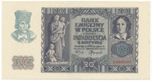 20 złotych 1940 -A-