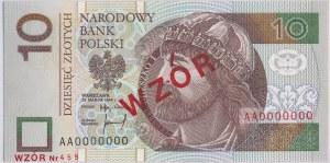 10 złotych 1994 A 0000000 - WZÓR Nr. 459 - GDA 64 EPQ