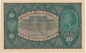 10 marek 1919 - II Serja U - jednoliterowa