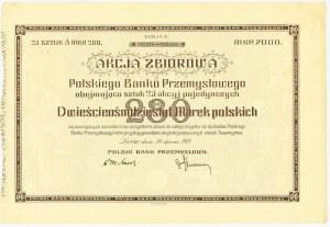 Polski Bank Przemysłowy 20.01.1923 - 25x280 marek - rzadsza