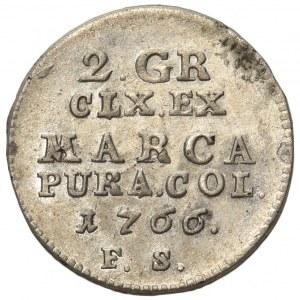 Poniatowski, Półzłotek 1766 F.S