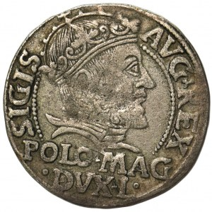 Zygmunt II August, Grosz na stopę polską Wilno 1547