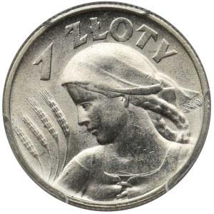 Kobieta i kłosy 1 złoty 1925 - PCGS MS63