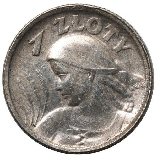 Kobieta i kłosy 1 złoty 1924