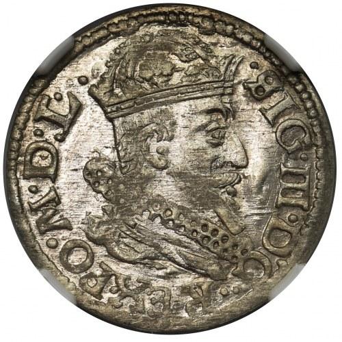 Zygmunt III Waza, Grosz Wilno 1625 - NGC MS64 - okazowy
