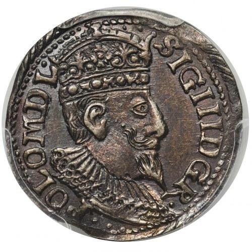 Zygmunt III Waza, Trojak Olkusz 1598 - PCGS MS63
