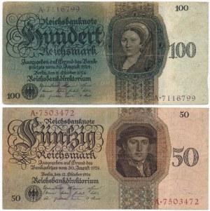 Germany - 50 and 100 mark 1923 (2pcs.)