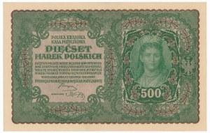 500 marek 1919 - II Serja S
