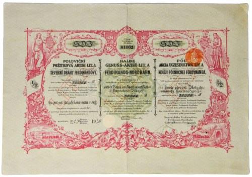 Kolej Północna Ferdynanda, 500 złotych 1931 - rzadka