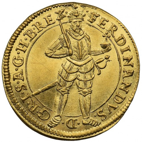 Niemcy -Ferdinand II - Dukat 1631 - RZADKOŚĆ