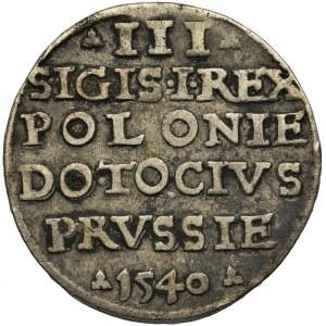 Zygmunt I Stary, Trojak Elbląg 1540
