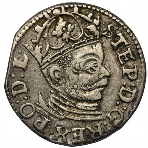 Stefan Batory, Trojak Ryga 1585