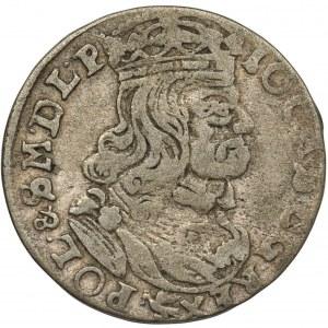 Jan Kazimierz, Szóstak 1662 Poznań N-G