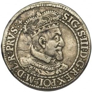 Zygmunt III Waza, Ort Gdańsk 1616 - wąska kryza