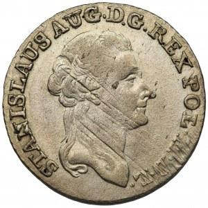 Poniatowski, Złotówka 1791 E.B