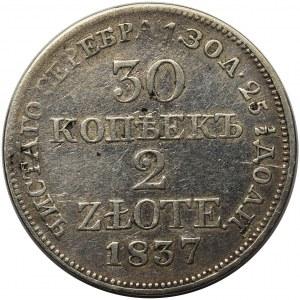 30 kopiejek = 2 złote 1837 MW, Warszawa