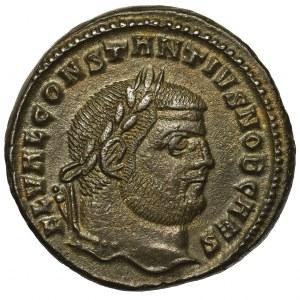 Cesarstwo Rzymskie, Konstancjusz I jako Cezar (293-305), Follis