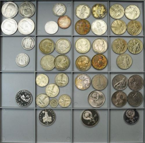 Rosja - Zestaw monet 1896 - 1990 (45 szt.)