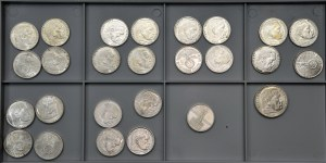 Coin lot - German silver coins - Hindemburg/ Church. - beautifull condition