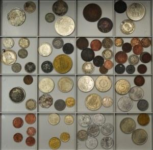 Zestaw monet - Niemcy, Gdańsk i Austria (78 szt.)