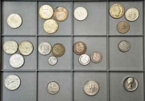 Zestaw monet - Czechosłowacja, Litwa, Łotwa, Estonia i Rumunia (22szt.)