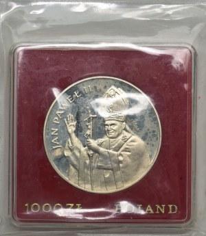 1.000 złotych 1982 - PRÓBA - Jan Paweł II