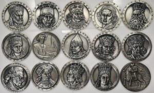 Zestaw - medali Z.W.PTTK CHEŁM ( 16 szt.)