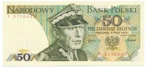 50 złotych 1975 -F-