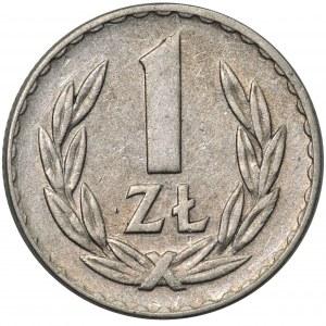 1 złoty 1957 - najrzadszy rocznik