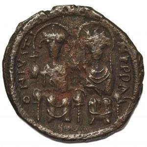 Cesarstwo Bizantyjskie, Justyn II (565-578), Follis