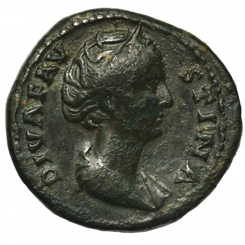 Cesarstwo Rzymskie, Faustyna Starsza (żona Marka Aureliusza), As pośmiertny