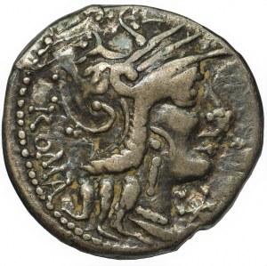Republika Rzymska, M. Calidius, Q. Metellus, Cn. Fulvius (117-116 pne), Denar
