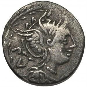 Republika Rzymska, M. Lucilius Rufus (101 pne), Denar
