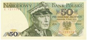 50 złotych 1975 -E-