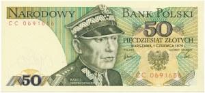 50 złotych 1979 -CC-