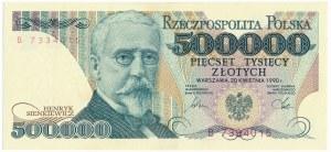 500.000 złotych 1990 -B-