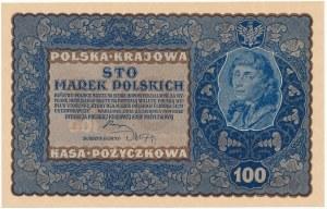 100 marek 1919 - IE Serja N - znakomita świeżość
