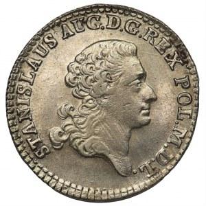 Poniatowski, Złotówka 1767 FS - data szeroko rozstawiona