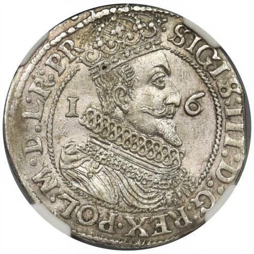 Zygmunt III Waza, Ort Gdańsk 1624/3 - PR• - NGC MS64