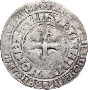 Niderlandy, Holandia, Wilhelm V Bawarski 1354-1389, grosz podwójny