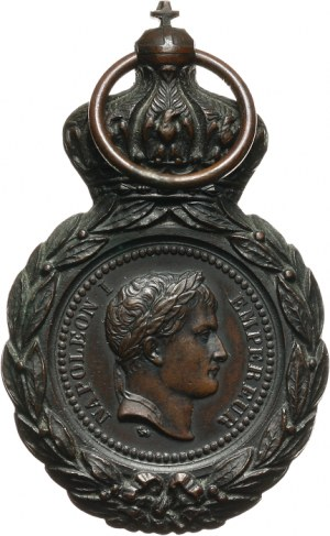 Francja, Napoleon Bonaparte, medal 1857 r.