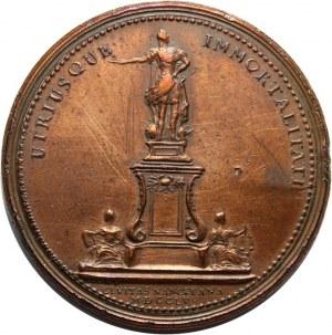 Stanisław Leszczyński, medal z okazji wzniesienia pomnika króla Francji