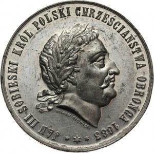Jan III Sobieski, medal z okazji 200. rocznicy Odsieczy Wiedeńskiej