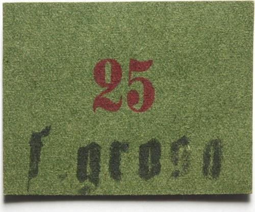 Lwów, Cukiernia F. Grosa, 25 (halerzy)