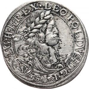 Austria, Leopold I 1657-1705, 15 krajcarów 1664, Wiedeń