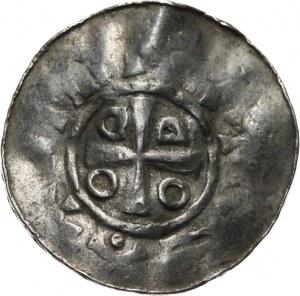 Niemcy, Saksonia - Otto III 983-1002, denar 983-1002