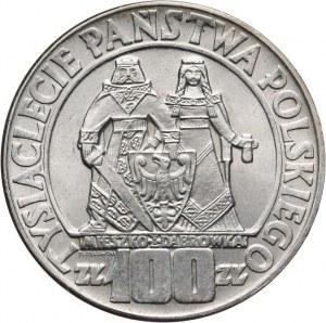PRL, 100 złotych 1966, Dąbrówka