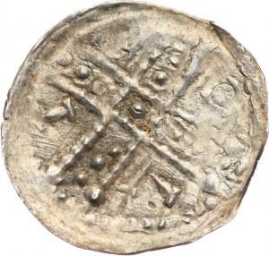 Bolesław I Wysoki 1163-1201, denar ok. 1185/90-1201, Wrocław