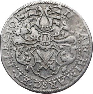Niemcy, Saksonia, August 1553 - 1586, grosz 1577