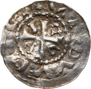 NIEMCY / Dolna Saksonia. denar, Aw: Monogram utworzony z liter T i leżącej E
